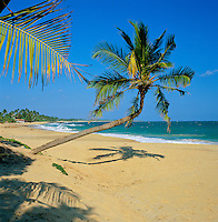Sri Lanka, South coast near Tangalle: secluded beach | Sri Lanka, Suedkueste bei Tangalle: einsamer Strand