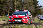 10th February 2019, Galway, Ireland; Galway International Rally; Daniel Cronin and JJ Cremin (Ford Fiesta R5) finish a fine 8th overall