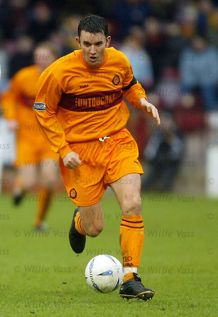 Jason Dair, Motherwell.stock season 2003-04.pic willie vass