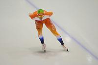 SCHAATSEN: HEERENVEEN: IJsstadion Thialf, 06-10-2012, Trainingswedstrijd, KNSB Jong Oranje, Arvin Wijsman, ©foto Martin de Jong