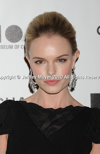 LOS ANGELES, CA. - November 13: Kate Bosworth arrives at MOCA Presents: Envisioned By Artist Doug Aitken at MOCA Grand Avenue on November 13, 2010 in Los Angeles, California.