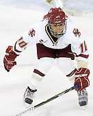 Blake Bolden (BC - 10) - The Boston College Eagles defeated the Boston University Terriers 2-1 in the opening round of the Beanpot on Tuesday, February 8, 2011, at Conte Forum in Chestnut Hill, Massachusetts.