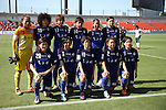 ASAS ELFEN SAITAMA Team Group Line-Up,<br /> JUNE 15, 2014 - Football / Soccer : 2014 Nadeshiko League, between AS ELFEN SAITAMA 1-3 INAC KOBE LEONESSA at NACK 5 Stadium Omiya, Saitama, Japan. (Photo by Jun Tsukida/AFLO SPORT)