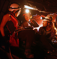 The Descent (2005) <br /> Shauna Macdonald, Natalie Mendoza &amp; Alex Reid<br /> *Filmstill - Editorial Use Only*<br /> CAP/KFS<br /> Image supplied by Capital Pictures