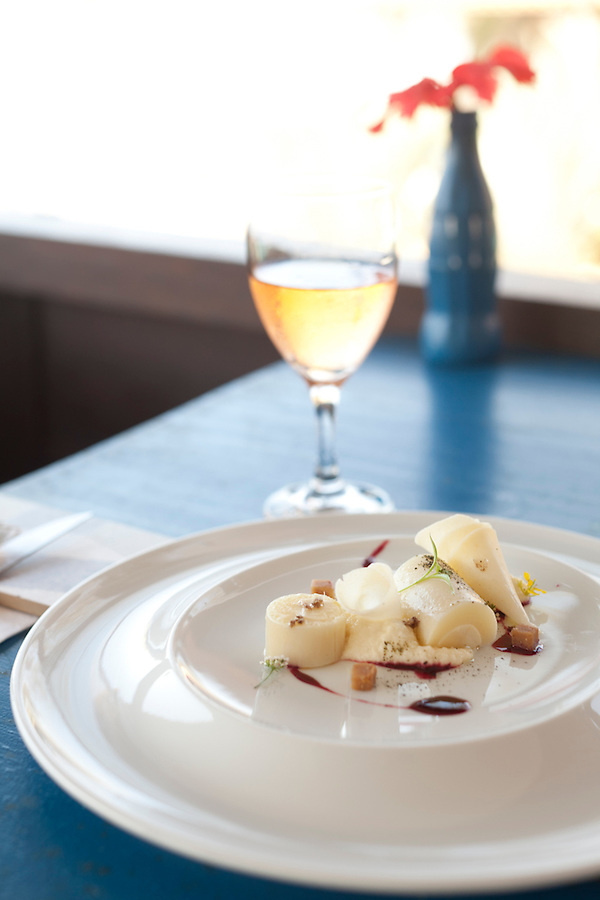 **need to check <br /> Scallops with parmesan cheese gratin and white wine, at Rocka Beach Lounge and Restaurant