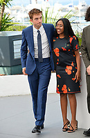 Robert Pattinson &amp; Taliah Webster at the photocall for &quot;Good Time&quot; at the 70th Festival de Cannes, Cannes, France. 25 May 2017<br /> Picture: Paul Smith/Featureflash/SilverHub 0208 004 5359 sales@silverhubmedia.com