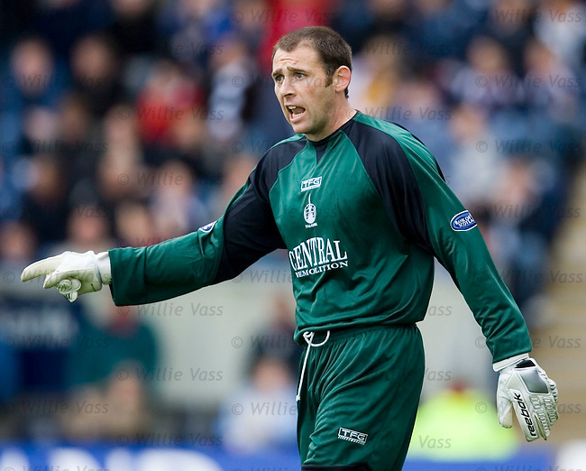 Matt Glennon, Falkirk.stock season 2005-2006.pic willie vass
