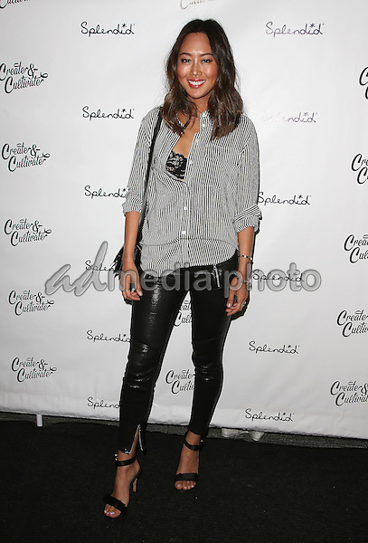 20 March 2015 - Los Angeles California - Aimee Song. Create & Cultivate's Speaker Celebration held at The Line Hotel. Photo Credit: F. Sadou/AdMedia