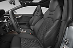 Front seat view of 2015 Audi S7 Base 4 Door Sedan front seat car photos