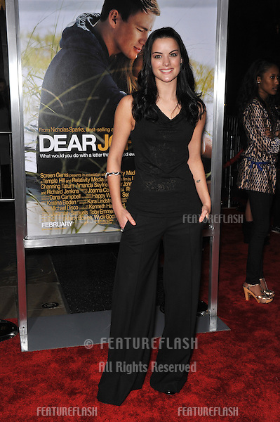 "Jaimie Alexander at the world premiere of ""Dear John"" at Grauman's Chinese Theatre, Hollywood..February 1, 2010  Los Angeles, CA.Picture: Paul Smith / Featureflash"