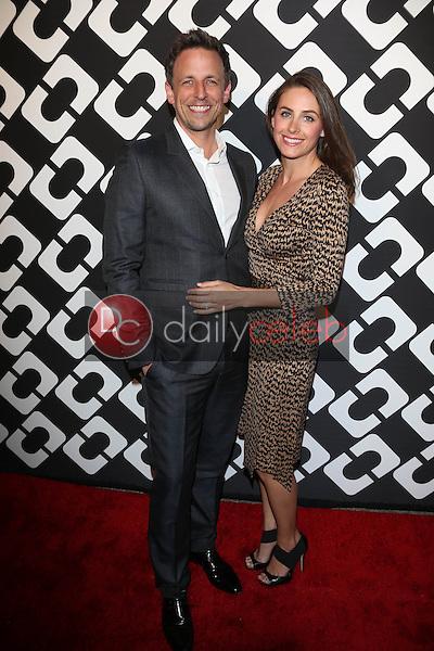 Seth Meyers<br /> at the Diane Von Furstenberg Journey of a Dress 40th Anniversary Party, LACMA West, Los Angeles, CA 01-10-14<br /> David Edwards/Dailyceleb.com 818-249-4998