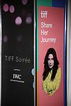 Priyanka Chopra signage at the TIFF Soiree during the 2017 Toronto International Film Festival at TIFF Bell Lightbox on September 6, 2017 in Toronto, Canada.