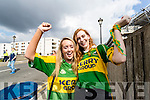 Pictured at the All-Ireland football semi-final Kerry v Dublin in Croke Park on Sunday, were l-r: Aoife Sheehy and Mary Anne Sullivan, both from Tralee.