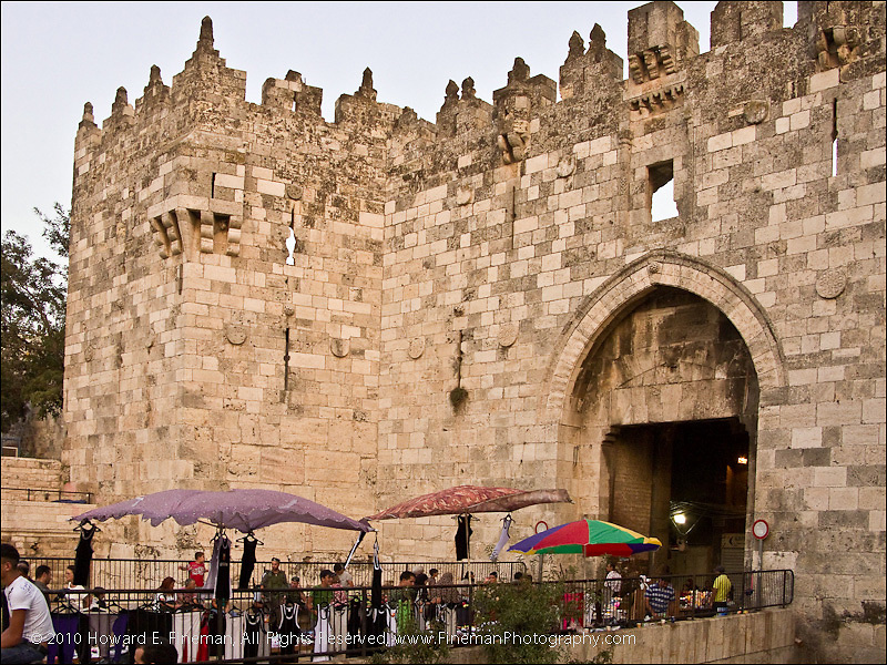 Damascus Gate, Old Jerusalem
