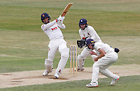 Feroze Khushi hits out during Essex CCC vs Kent CCC, Bob Willis Trophy Cricket at The Cloudfm County Ground on 4th August 2020