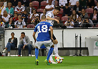 Niklas Süle (Deutschland Germany) gegen Karol Mets (Estland, Estonia) - 11.06.2019: Deutschland vs. Estland, OPEL Arena Mainz, EM-Qualifikation DISCLAIMER: DFB regulations prohibit any use of photographs as image sequences and/or quasi-video.