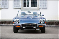BNPS.co.uk (01202 558833)<br /> Pic: Bonhams/BNPS<br /> <br /> 1972 Jaguar E-Type Series 3 V12 estimated at &pound;59,000.<br /> <br /> If barn finds are the holy grail for car collectors then this selection of 12 vintage motors worth &pound;2million found languishing in a Swiss schloss is something else. <br /> <br /> The stunning collection, which boasts an iconic 1921 Rolls-Royce Silver Ghost, was started by a wealthy car enthusiast in the 1950s but since his death has remained largely untouched. <br /> <br /> However, the original owner's son recently rediscovered his father's haul and will now offer it at auction.