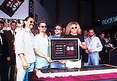 Oct 06, 1995: VAN HALEN - Inducted into Guitar Center's Rock Walk