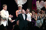 """Kelsey Grammer, Douglas Hodges, Jerry Herman, Christine Andreas<br />during the Broadway Opening Night Performance Curtain Call for  """"La Cage Aux Folles""""  at the Longacre Theatre in New York City.<br />April 18, 2010"""