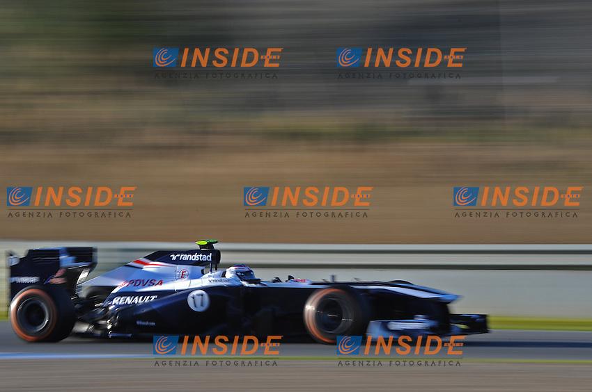 formula 1: Test  Jerez 08/02/2013.VALTTERI BOTTAS (FIN)- WILLIAMS RENAULT FW35 ACTION ...Foto Insidefoto / ITALY ONLY