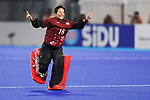 Akio Tanaka (JPN), <br /> AUGUST 31, 2018 - Hockey : <br /> Women's Final match <br /> between Japan 2-1 India  <br /> at Gelora Bung Karno Hockey Field <br /> during the 2018 Jakarta Palembang Asian Games <br /> in Jakarta, Indonesia. <br /> (Photo by Naoki Morita/AFLO SPORT)