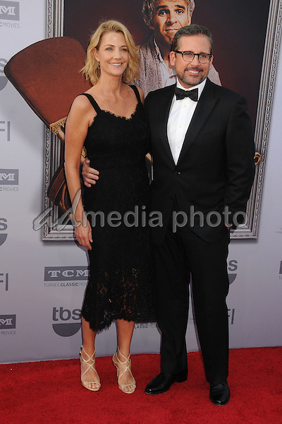 4 June 2015 - Hollywood, California - Nancy Carell, Steve Carell. AFI 43rd Life Achievement Award Gala Tribute To Steve Martin held at the Dolby Theatre. Photo Credit: Byron Purvis/AdMedia