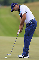 Sergio Garcia (ESP) putts on the 8th green during Saturday's Round 3 of the 117th U.S. Open Championship 2017 held at Erin Hills, Erin, Wisconsin, USA. 17th June 2017.<br /> Picture: Eoin Clarke | Golffile<br /> <br /> <br /> All photos usage must carry mandatory copyright credit (&copy; Golffile | Eoin Clarke)