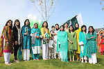 Celebrating Pakistani Independence Day in Rose Hall...Picture Jenny Matthews/Newsfile.ie
