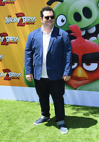 """10 August 2019 - Westwood, California - Josh Gad. Sony's """"The Angry Birds Movie 2"""" Los Angeles Premiere held at Regency Village Theater.   <br /> CAP/ADM/BT<br /> ©BT/ADM/Capital Pictures"""