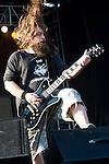 Mark Morton of Lamb of God performs during the 2013 Rock On The Range festival at Columbus Crew Stadium in Columbus, Ohio.