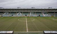 General view inside the ground ahead of the Sky Bet League 2 match between Plymouth Argyle and Wycombe Wanderers at Home Park, Plymouth, England on 30 January 2016. Photo by Mark  Hawkins / PRiME Media Images.
