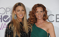 www.acepixs.com<br /> <br /> January 18 2017, LA<br /> <br /> Actress Blake Lively and her sister Robyn Lively (R) arriving at the People's Choice Awards 2017 at the Microsoft Theater on January 18, 2017 in Los Angeles, California.<br /> <br /> By Line: Peter West/ACE Pictures<br /> <br /> <br /> ACE Pictures Inc<br /> Tel: 6467670430<br /> Email: info@acepixs.com<br /> www.acepixs.com