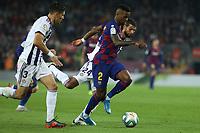29th October 2019; Camp Nou, Barcelona, Catalonia, Spain; La Liga Football, Barcelona versus Real Valladolid; Semedo breaks forward