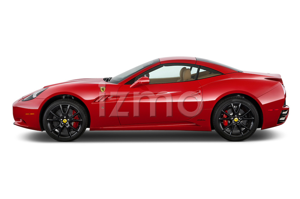 Driver's side view of a 2014 Ferrari California Convertible