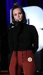 "Caitlin Houlahan from ""Girl from the North Country"" during the BroadwayCON 2020 First Look at the New York Hilton Midtown Hotel on January 24, 2020 in New York City."