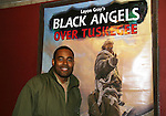 "Lamman Rucker (Tyler Perry's Why Did I Get Married, Marshall Travers on As The World Turns stars as ""Elijah Sams"" in Layon Gray's Black Angels - The Story of the Tuskegee Airman on February 7, 2010 and continuing. (Photo by Sue Coflin/Max Photos)"