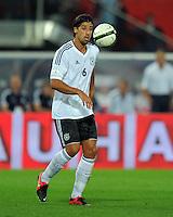 Fussball International  WM Qualifikation 2014   11.09.2012 Oesterreich - Deutschland Sami Khedira (Deutschland)
