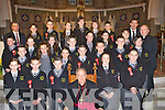 Students from Gaelcolaiste Ciarrai? who received their confirmation in St Stephens and Johns church Castleisland on Monday