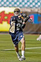 February 20, 2011:  Notre Dame midfield Taylor Tripucka (2) during Lacrosse action between the Duke Blue Devils and Notre Dame Fighting Irish during the Moe's Southwest SunShine Classic played at EverBank Field in Jacksonville, Florida. Notre Dame defeated Duke 12-7.