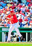 29 August 2010: Washington Nationals third baseman Ryan Zimmerman in action against the St. Louis Cardinals at Nationals Park in Washington, DC. The Nationals defeated the Cards 4-2 to take the final game of their 4-game series. Mandatory Credit: Ed Wolfstein Photo