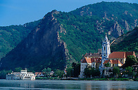 """The """"Mozart"""" passing on the Danube."""