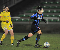 Club Brugge Dames - WB Sinaai Girls : Elien Van Wynendaele.foto DAVID CATRY / Vrouwenteam.be
