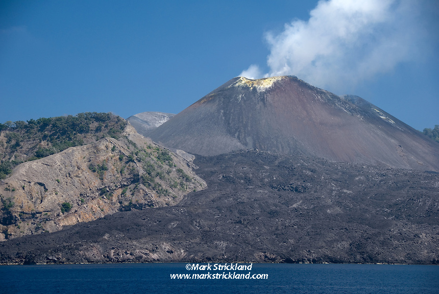 India's only active volcano, Barren Island is uninhabited and isolated from the rest of the island chain. It also offers some of the most compelling diving in the region, with clear water, bottomless walls, big fish, unusual species, lush soft corals, and dark sand bottom that makes it appear all the more spectacular. Barren Island, Andaman Islands, Andaman Sea, India