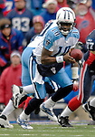 24 December 2006: Tennessee Titans quarterback Vince Young (10) sets to make a handoff against the Buffalo Bills at Ralph Wilson Stadium in Orchard Park, New York. The Titans edged out the Bills 30-29.&#xA; &#xA;Mandatory Photo Credit: Ed Wolfstein Photo<br />