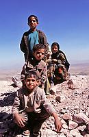 Yemen, children of a poor village