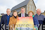 Fr Larry Kelly, Kathleen Murphy, Diarmuid McCarthy, Peggy Herlihy and Martin Murphy who are planning a number of events to celebrate the 150th anniversary of St Josephs Church Rathmore over the next few weeks
