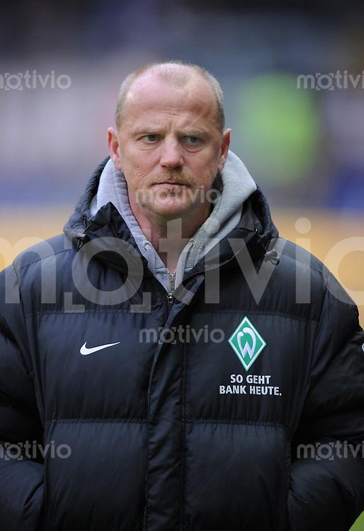 Fussball 1. Bundesliga   Saison   2009/2010  18. Spieltag  16.01.2010 Eintracht Frankfurt - SV Werder Bremen SV Werder Trainer Thomas Schaaf