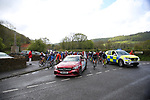 The start of Stage 2 of the 2019 ASDA Tour de Yorkshire Women's Race, running 132km from Bridlington to Scarborough, Yorkshire, England. 4th May 2019.<br /> Picture: ASO/SWPix | Cyclefile<br /> <br /> All photos usage must carry mandatory copyright credit (© Cyclefile | ASO/SWPix)