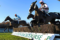 Winner of The Tysers Handicap Chase Tzar De L'Elfe (7)   ridden by James Davies and trained by Richard Rowe during Horse Racing at Plumpton Racecourse on 2nd December 2019