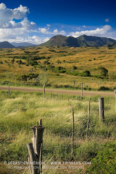 Paysage de la côte Ouest, région de Poya, province Nord